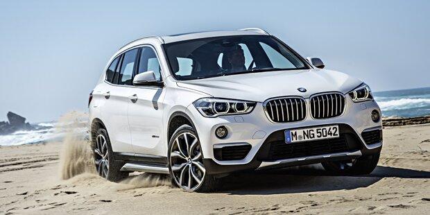 Das ist der völlig neue BMW X1