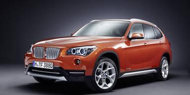 Mini-Facelift für den BMW X1