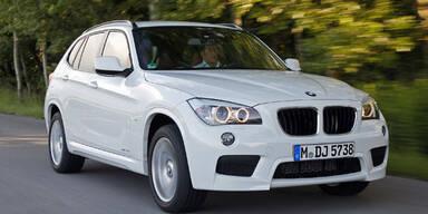 BMW X1 mit sparsamen TwinTurbo 4-Zylindern