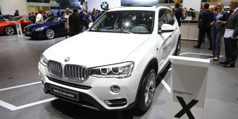 Dezentes Facelift für den BMW X3