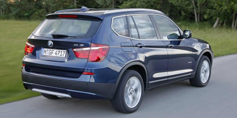BMW ruft in Österreich 5.460 Autos zurück