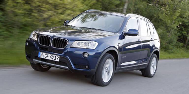 BMW X3 bekommt zwei neue Motoren
