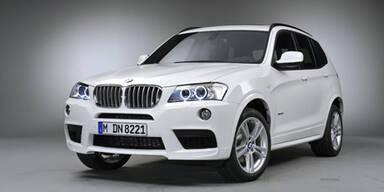 BMW spendiert dem neuen X3 ein Sportpaket