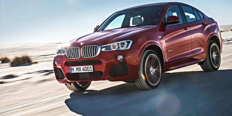 BMW ruft bei uns 15.382 X3 und X4 zurück