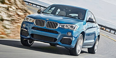 Neues BMW X4 Top-Modell M40i kommt