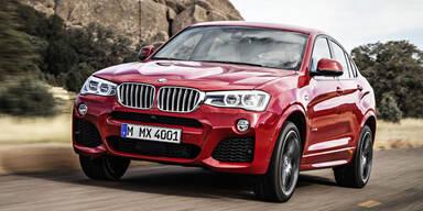 Weltpremiere des neuen BMW X4