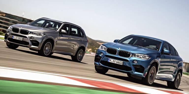 BMW bringt den X6 M und den X5 M