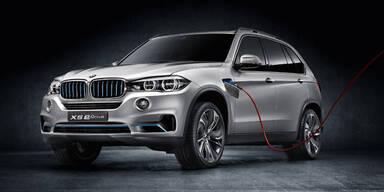 BMW zeigt sparsamsten X5 aller Zeiten