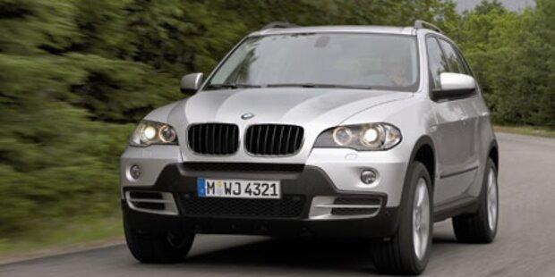 Wilde Verfolgung von zwei BMW-Dieben
