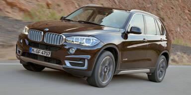 Weltpremiere des neuen BMW X5