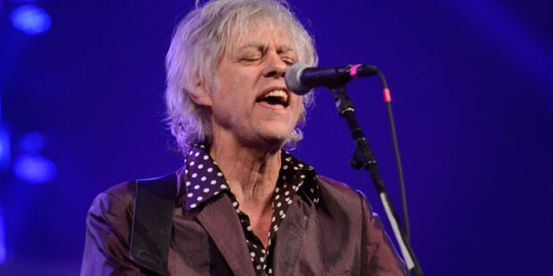 Bob Geldof: Erster Gig nach Peaches' Tod