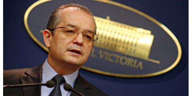 Rumänische Regierung abgesetzt
