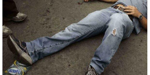 Betrunkener schläft am Tatort ein