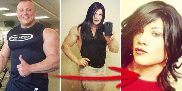 Weltrekord-Bodybuilder wird zur Frau