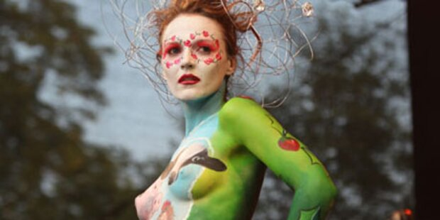 Bodypainting Festival am Wörthersee