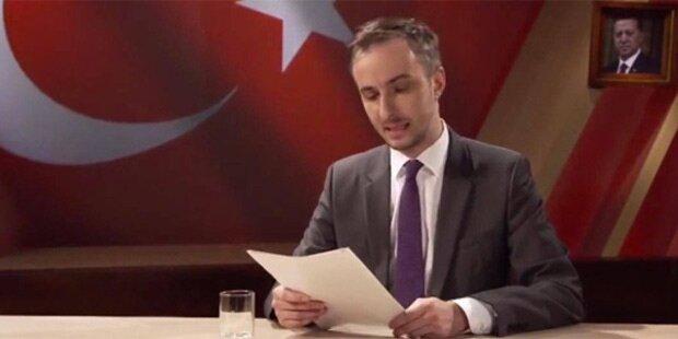 Böhmermann macht sich über Strafverfolgung lustig