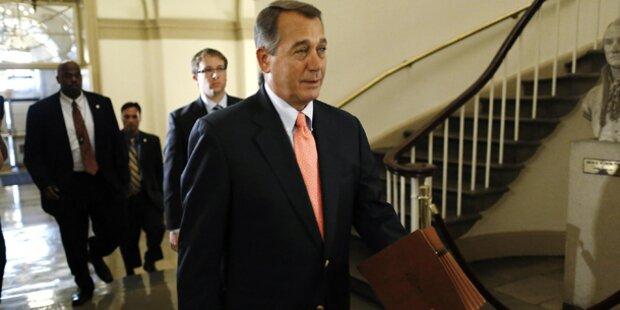 US-Budgetstreit: Republikaner bleiben hart