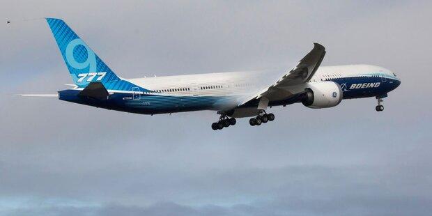 Neue Boeing 777X absolvierte Erstflug