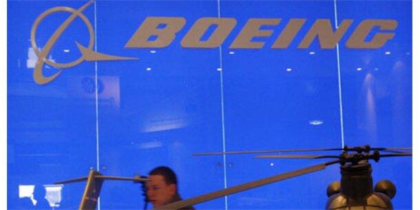 Boeings Bestellungen brechen ein