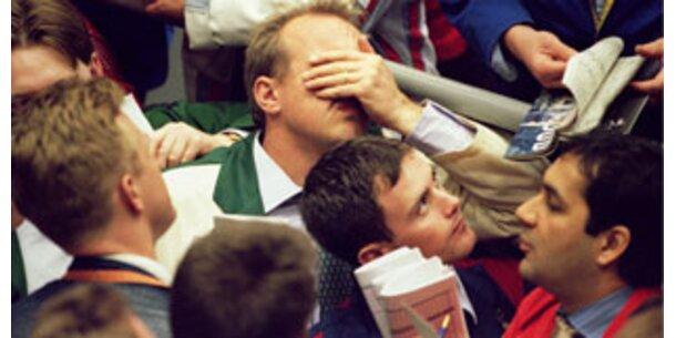 Börsen extrem nervös