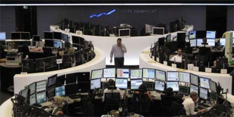 Europas Leitbörsen zu Mittag mit Verlusten