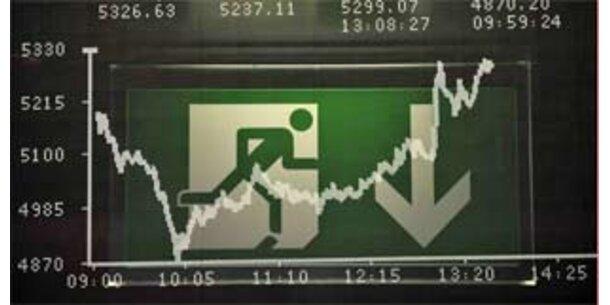 Leitzinssenkung stoppte Börsen-Talfahrt nicht