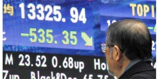 Schwarzer Montag an Asiens und Europas Börsen
