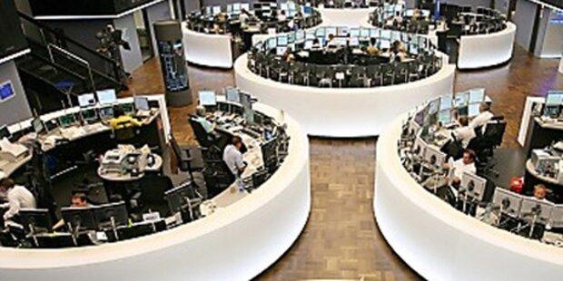 Europas Börsen schließen im Plus