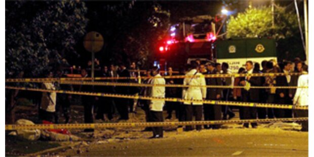 Zwei Tote bei Bombenanschlag in Bogota