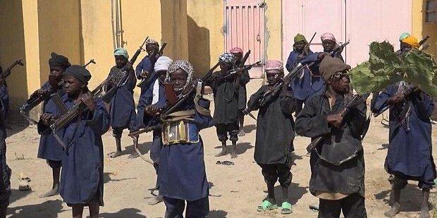 Boko Haram schockt mit Kindersoldaten