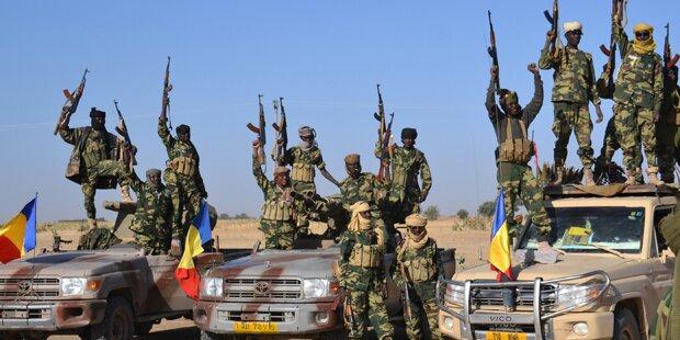 Tschad tötet 200 Boko-Haram-Kämpfer