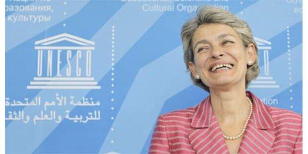 Bokova neue UNESCO-Generaldirektorin