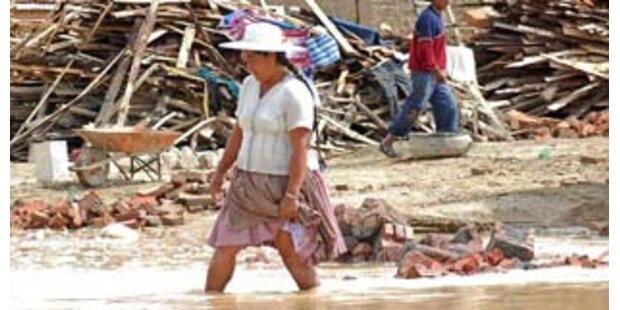 Überschwemmung führt zu Notstand in Bolivien
