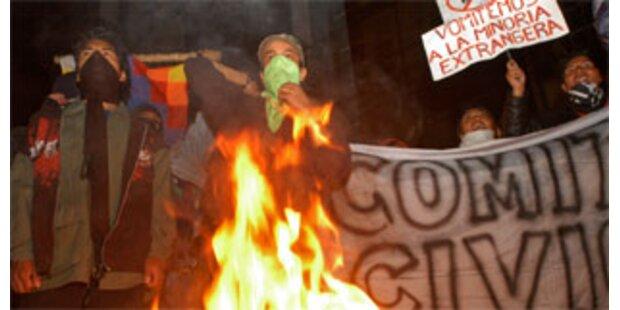 Sieg der Autonomisten in Bolivien bestätigt