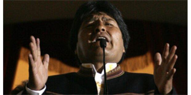 Boliviens Präsident Morales bleibt im Amt