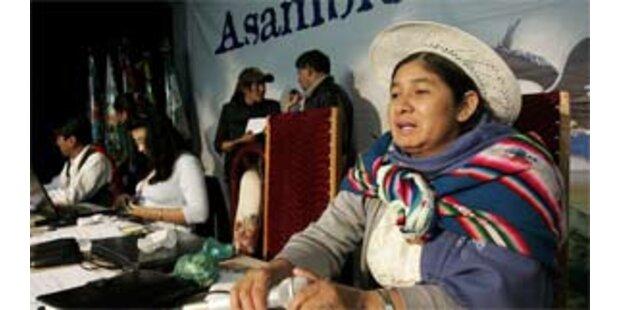 Neue Verfassung für Bolivien