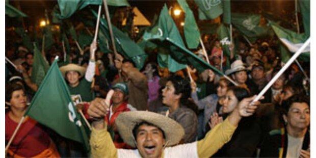 Boliviens Provinzen wollen Autonomie