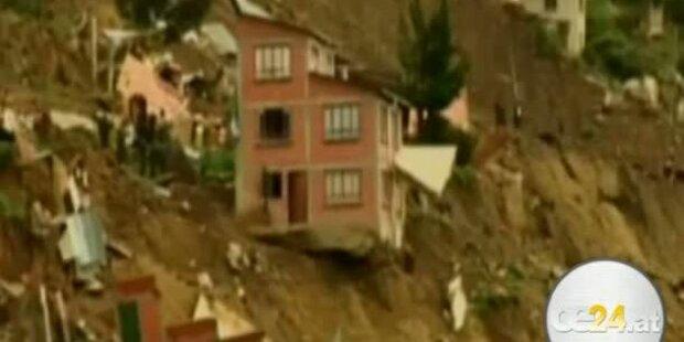 Erdrutsch in Bolivien. Tausende obdachlos