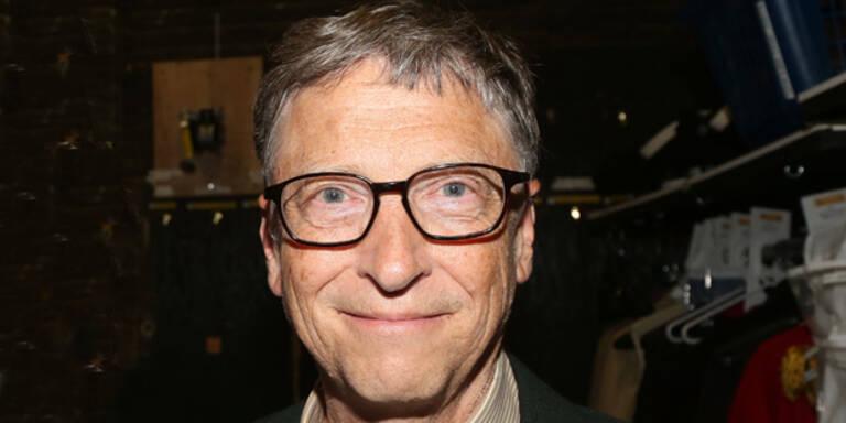 Bill Gates ist der reichste Mann der Welt