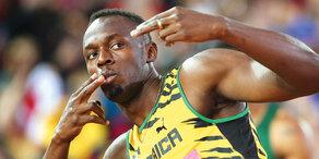 Stöger lädt Usain Bolt zum Probetraining