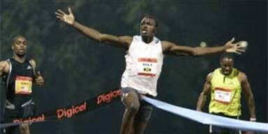 Jamaikaner Bolt läuft neuen 100-Meter-Weltrekord