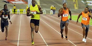 Bolt auch über 200 m siegreich