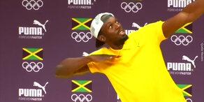 Tanzt Usain Bolt zuviel?