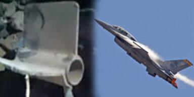 F-16-Jet warf versehentlich Bombe über Stadt ab