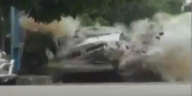 Autobombe detoniert beim Entschärfen