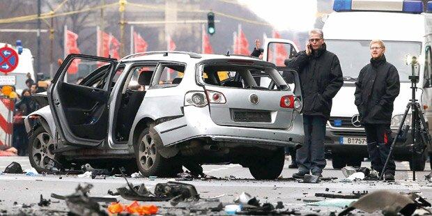Mafia-Mord in Berlin: Bombe in VW