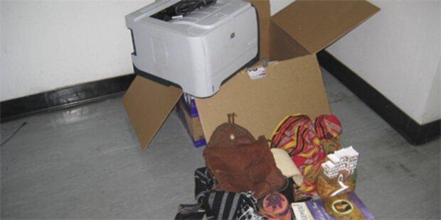 Junge Frau schickte Paketbomben
