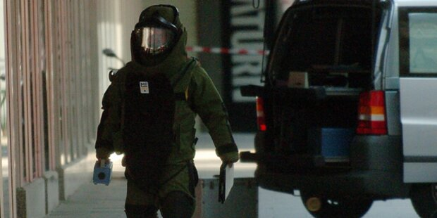 Verwaister Koffer löste Bombenalarm aus