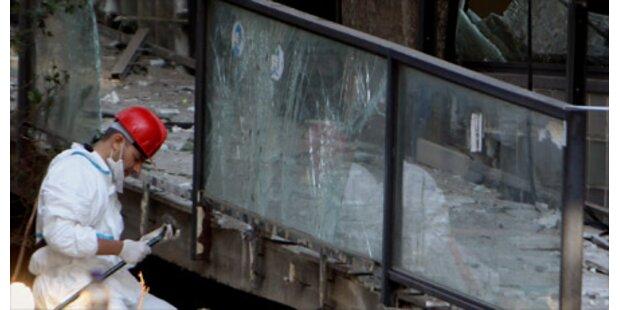 Bombe richtet großen Schaden in Athen an