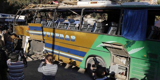 Bombe tötet sieben Pilger in Damaskus